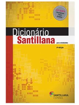 Imagem de Dicionário Santillana Para Estudantes  4ª Edição