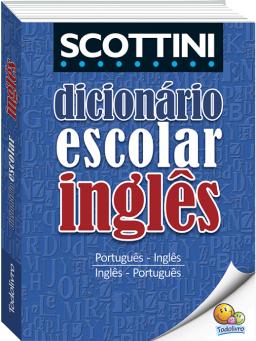 Imagem de Dicionário Escolar de Inglês Scottini