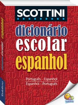 Imagem de Dicionário Escolar de Espanhol Scottini