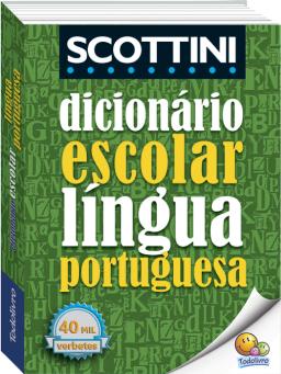 Imagem de Dicionário Escolar Língua Portuguesa Scottini